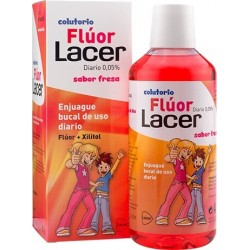 Lacer Flúor Diario 0,05% Fresa