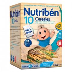 Nutribén Papillas 10 Cereales