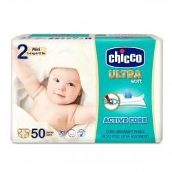 Chicco Pañales Talla 2 MINI 3-6 kg (Maxi Pack) 50uds