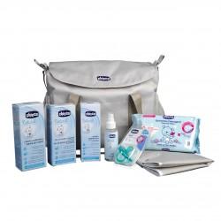 Chicco Bolsa maternidad con cambiador Natural Sensation Azul