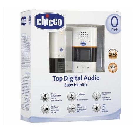 Chicco Vigilabebés Top Digital Audio