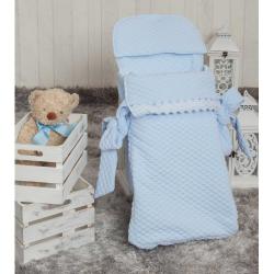Babyline Saco Cap.3 Usos Sweet Azul