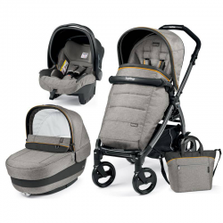 Peg-Perego Coche 3p. Luxe Grey S Jet