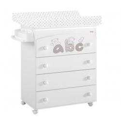 Bañera-Mueble ABC Blanco