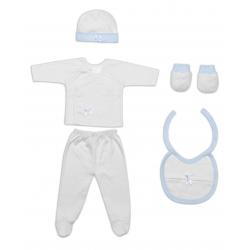 Ropa Bebé Set Regalo 5 P.Azul