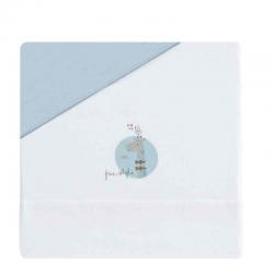 Bimbi - Tríptico Sáb.Alg.Cuna Jirafa Blanco-Azul
