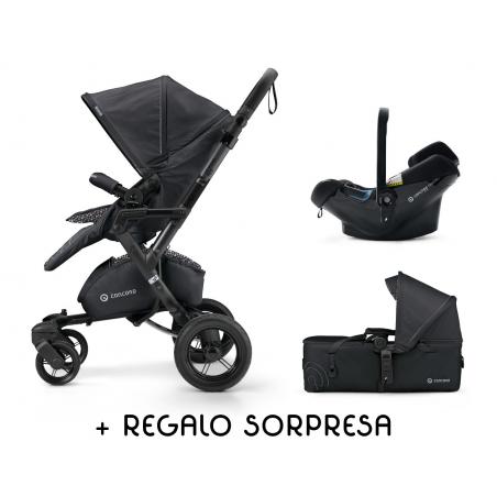 Concord Coche Neo Air 3 P.Negro + REGALO b. Isofix
