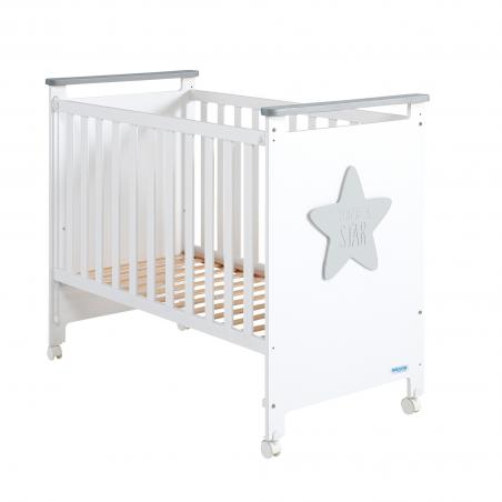 Cuna Baby Star Bl.-Gris Polar