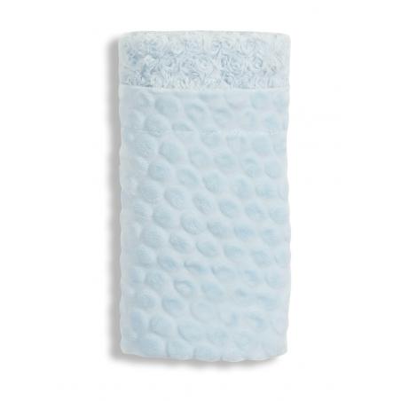 Interbaby Manta Cuna Azul Piedras