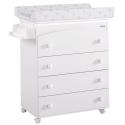 Bañera-Mueble Blanca Osos BEIG