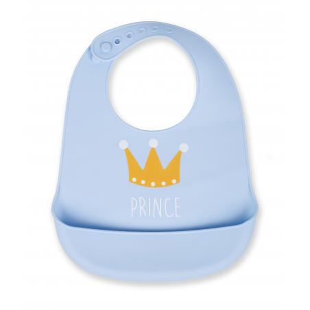 Interbaby Babero Látex Azul