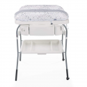 Chicco Bañera Cuddle&Bubble Cool Gris