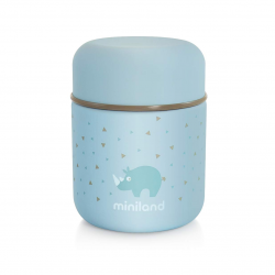Miniland Silky Food Thermos Mini Azure