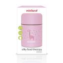 Miniland Silky Food Thermos Rose