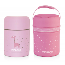 Miniland Silky Food Thermos Rose