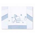 Petite Star Trípt.Mini Cuna Baby Bl.-Azul