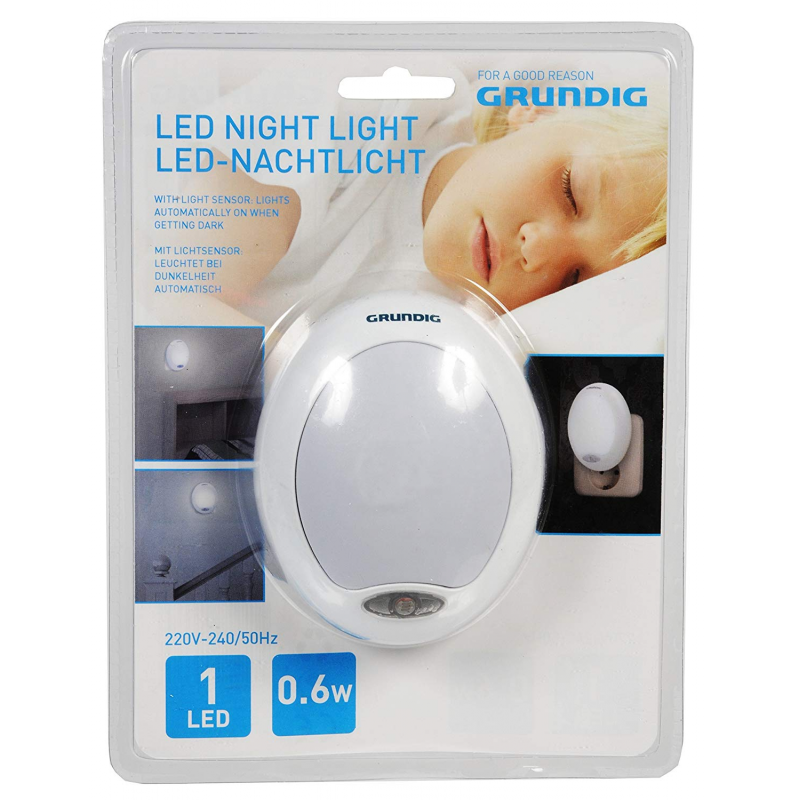 Grundig Quitamiedos Led c/Sens.230v