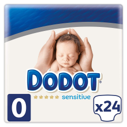 Dodot Pañales Sensitive Recien Nacido T0 hasta 2.5Kg 24uds