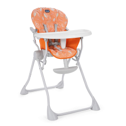 Chicco Trona Pocket Meal Happy Orange