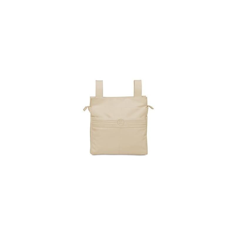 Pirulos talega ecopiel + cambiador Premier lino