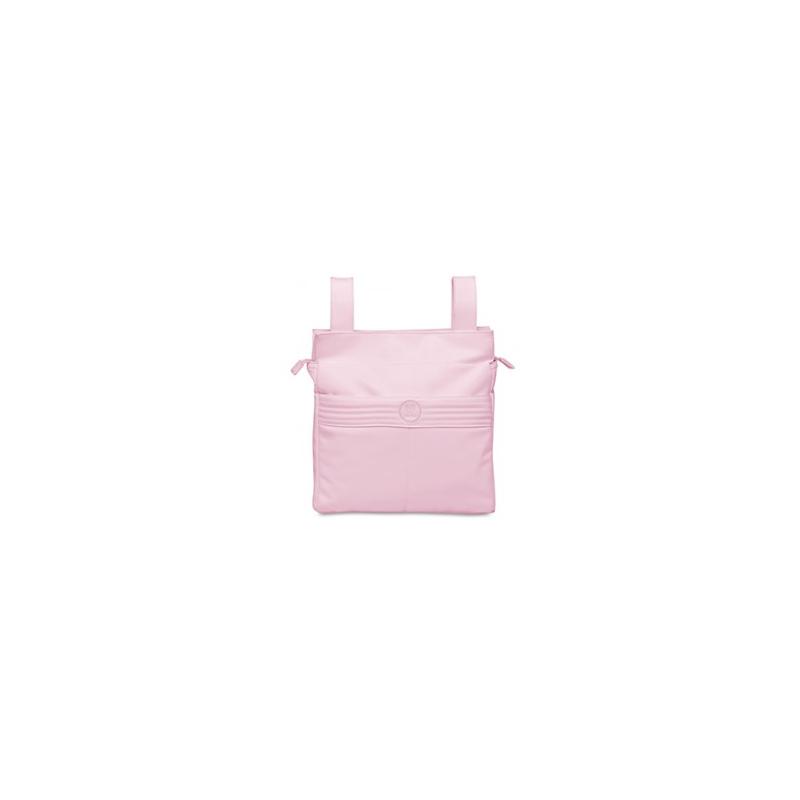 Pirulos talega + cambiador ecopiel Premier rosa
