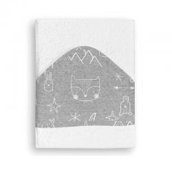 Pirulos maxicapa de baño Tipys blanco-gris