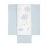 Bimbidreams colcha + protector Dulces Sueños blanco-azul