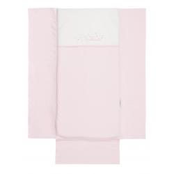 Bimbidreams edredón + protector Nuit blanco - rosa