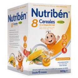 Nutribén Papilla 8 Cereales y Miel Digest 600gr