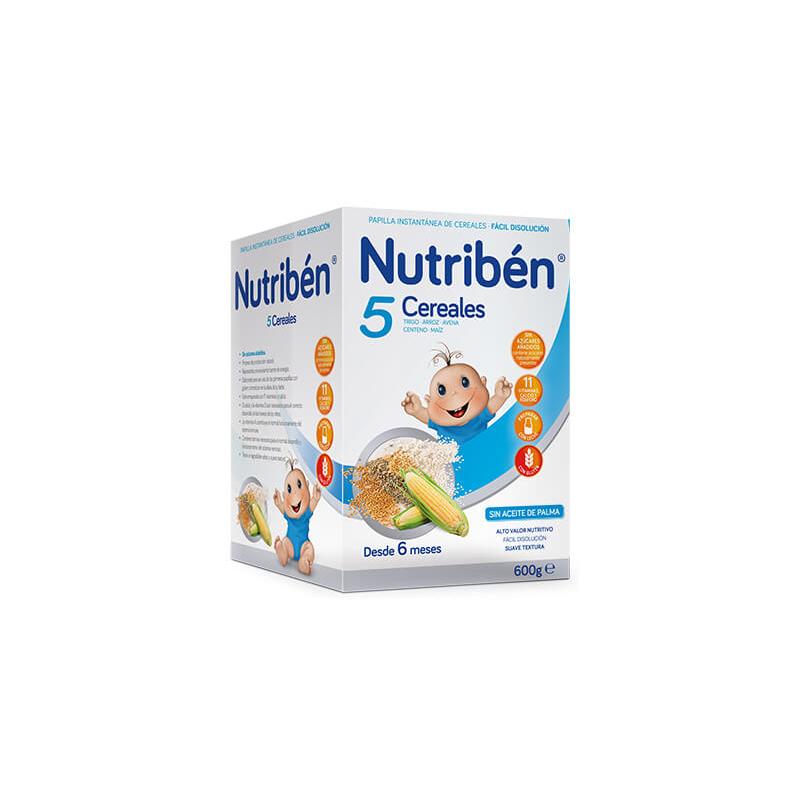 Nutribén Papilla 5 Cereales 600g