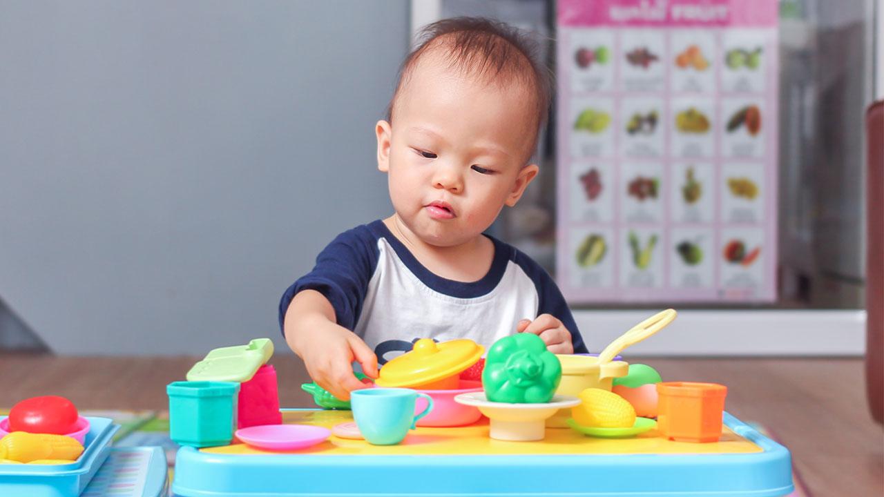 Tipos de juguetes para bebés de 1 año