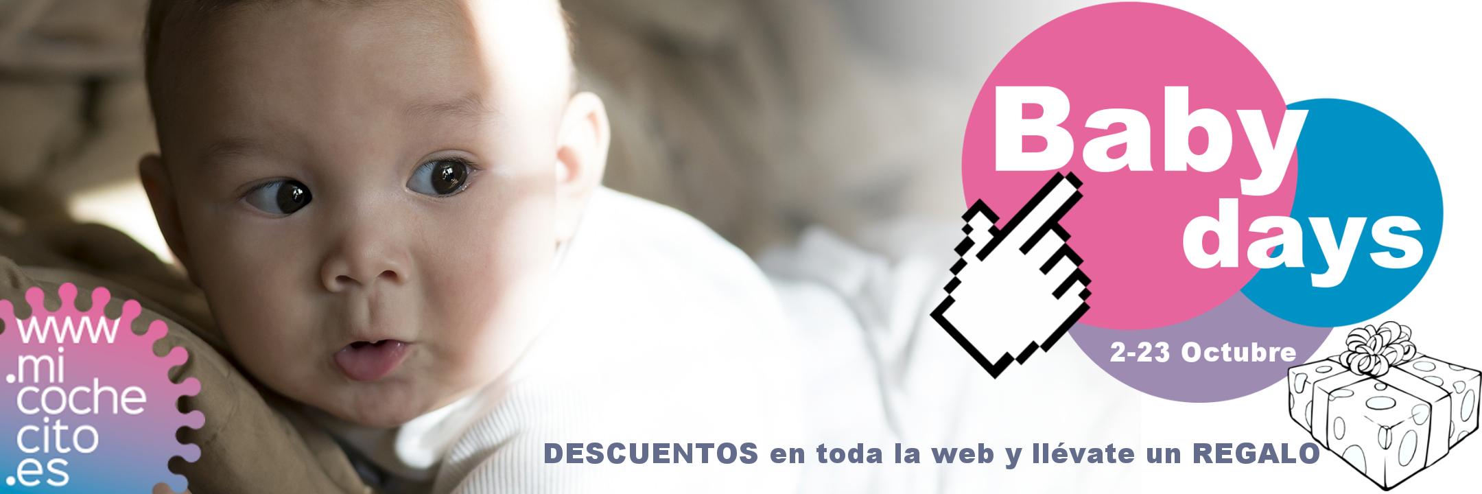 Días del bebé con descuentos en toda la web y regalos