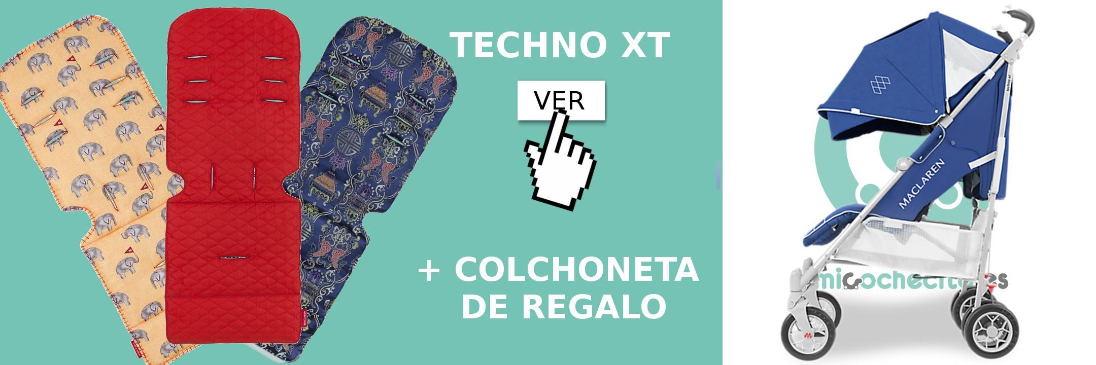 Techno XT + REGALO Colchoneta